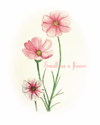 Small as a flower