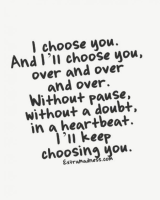 I Choose You