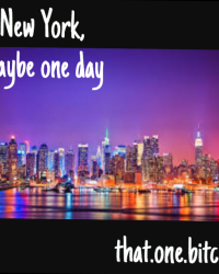 New York, Maybe One Day (SEQUEL TO NOTHING NICE)