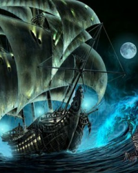 Goddess of the Ghost-Ship