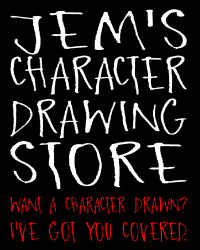 Jem's character drawing store!