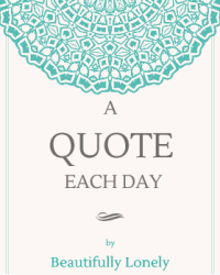 A quote each day