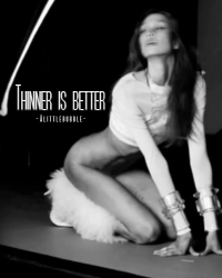 Thinner is better