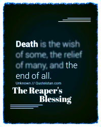 The Reaper's Blessing