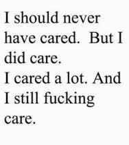 why do I care what you think or what you want?