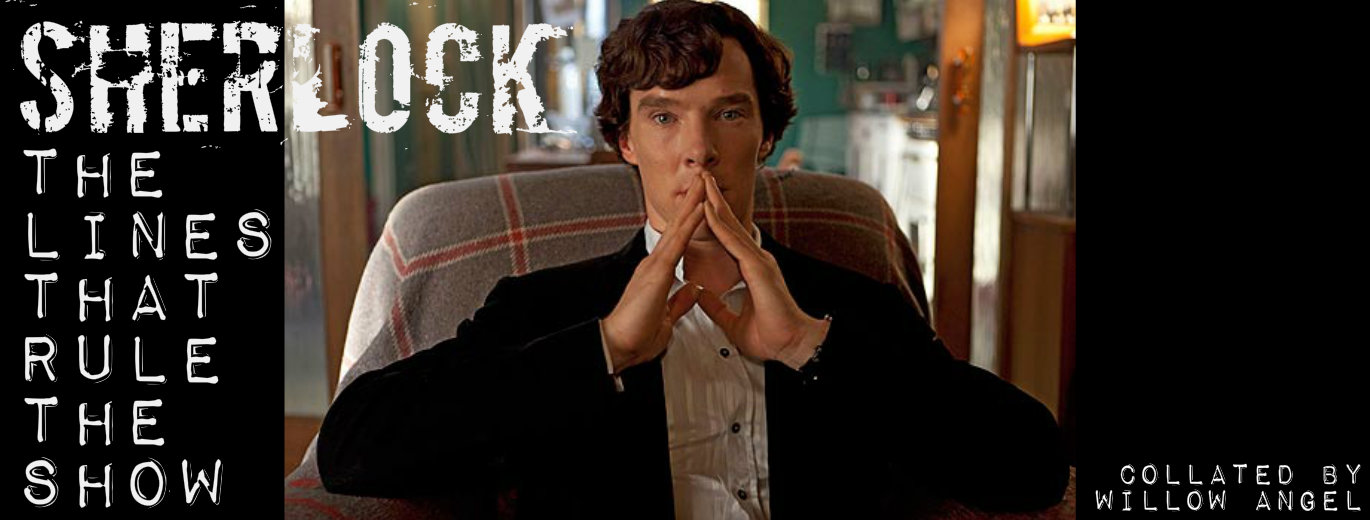 Sherlock: The Lines that Rule the Show