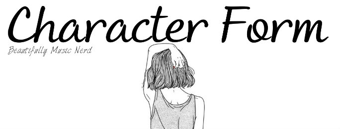 Character Form