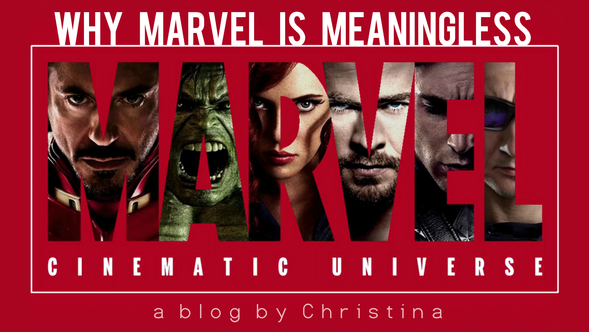 Why MARVEL is Meaningless.