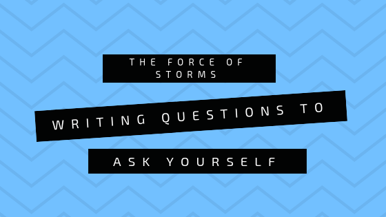 Writing Questions to Ask Yourself