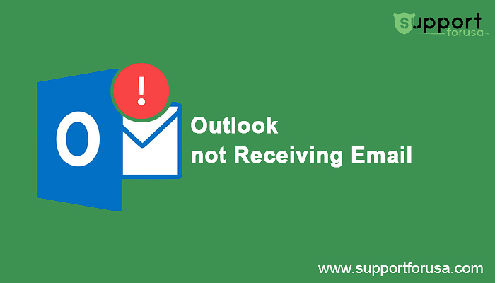 Why is my Outlook account not receiving emails?