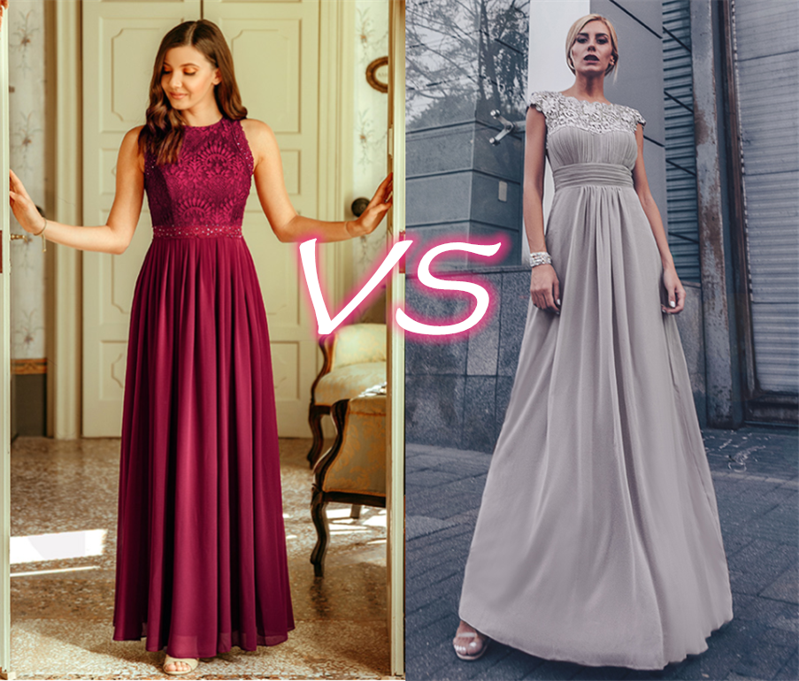 Burgundy Bridesmaid Dress VS Grey Bridesmaid Dress: Which One is Your Choice?