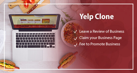 Interactive business review site with Yelp Clone