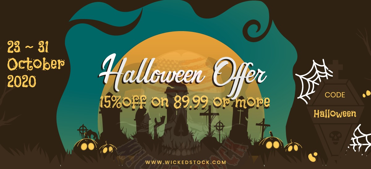 NO TRICKS JUST THE TREATS from your own WICKED STOCK!