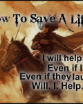 How To Save A Life.