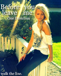 Before you leave me - 1D