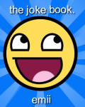 The joke book.