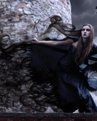 The silence of thoughts. ( Witchs, Vampires, shapeshifters and many more mystical creatures.)