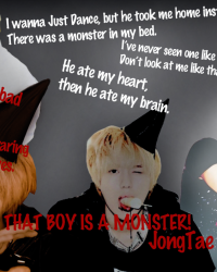 That boy is a monster!(JongTae.)