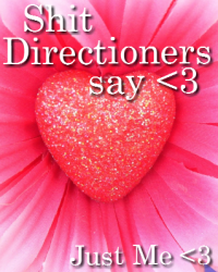 Shit Directioners say <3