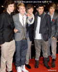 To treat the person you love right ~ 1D.