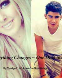 Everything changes ~ One Direction
