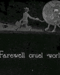 """Farewell Cruel World"""