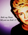 You stole my heart with just one look <3 (Completed)