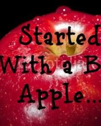 Started With a Big Apple