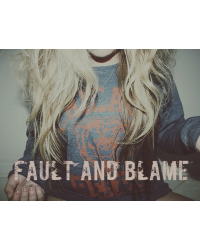 Fault and blame