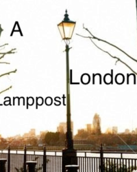 A London lamppost