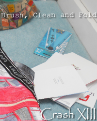 Brush, Clean and Fold