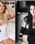 She's one of the boys ~ (1D)