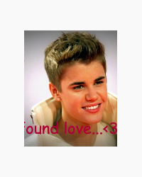 We found love <3 -JB (+12)