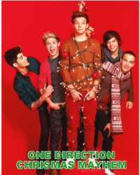 One Direction Christmas mayhem