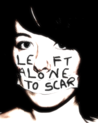 left alone to scar