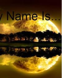 my name is ...........................