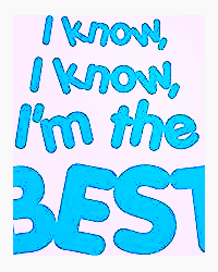 The best (Me)