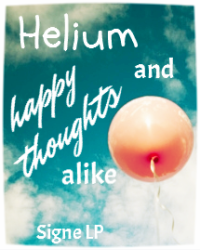 Helium and happy thoughts alike