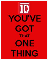You got that one thing