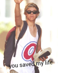 you saved my life (Niall Horan fanfic)