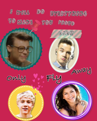 Only fly away- one direction -pause-