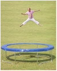 101 Things NOT to do on a Trampoline