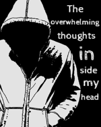 The overwhelming thoughts in my head