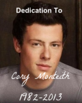 Dedication To Cory Monteith