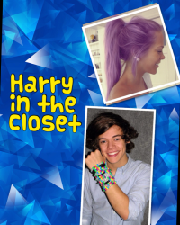 Harry in the closet