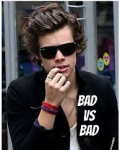Bad Vs Bad ( Harry Styles AU)