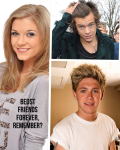 Best friends forever, remember? - One Direction