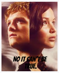NO it can't be true. Hunger games