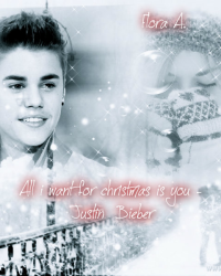 All i want for christmas is you - Justin Bieber