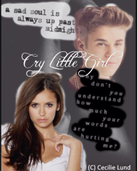 Cry little girl!